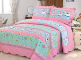 70를 위한 Prewashed 주문을 받아서 만들어진 Durable Comfy Bedding Quilted 1 피스 Bedspread Coverlet Set