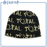 Hogift Unisex personalizado bordado invierno Beanie Hat