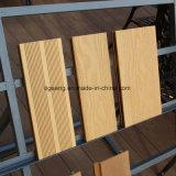 Jardin extérieur, stationnement, yard, plancher en bois du Decking WPC de balcon
