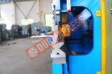 Wc67k-250t / 5000 Pressão hidráulica CNC Frenagem para metal inoxidável em alumínio