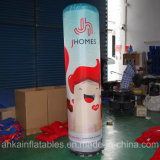 Fléau gonflable de pilier de qualité avec le logo chaud d'impression d'intérieur