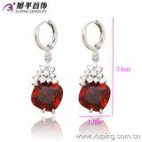 27706 Populares elegante luxo jóias de ródio brinco com Zircon para melhores dons ou casamento