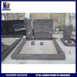 De grote Blauwe Grafsteen van het Graniet Himalayan met de Levering voor doorverkoop van Grafstenen