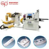 Linha de alimentação automática da máquina e da imprensa do alimentador de Decoiler do Straightener da folha da bobina