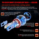 Coche de color dual LED la bombilla del faro de 25W 3000 lúmenes LED H11 de haz único faro