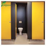 Partition de 12mm HPL avec armoire de toilette urinoir