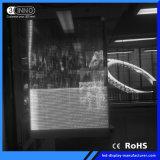 P3.9/7.8mm 최고는 광고를 위한 재생율 LED 투명한 전시를