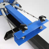 4 печатная машина экрана давления Screenprint шелковой ширмы станции цвета 2 с Ce