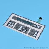 Interruttore di membrana grafico impresso del pannello di controllo della sovrapposizione di stampa del circuito