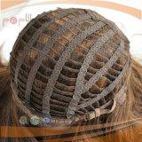 Peluca judía de Sheitel del cortocircuito del pelo humano (PPG-l-0530)