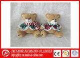 Petit ours de nounours de peluche de vente chaude pour Noël