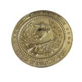 Custom de metal dorado Bit conmemorativa de la moneda Bitcoin