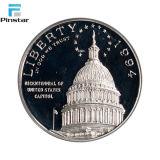 La fabrication de pièces de métal de haute qualité pièce d'argent personnalisé