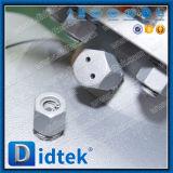 Didtek ASME B16.34 Wcb Drehzapfen eingehangenes Kugelventil