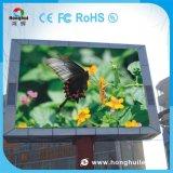 P16 256*128 esterno che fa pubblicità alla visualizzazione di LED