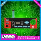 Qualitäts-Membranschalter mit grafischem Testblatt für das Gerät verwendet