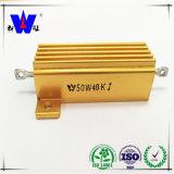 Golden Aluminum House Wirewound High Voltage Resistor
