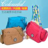 Do estilo coreano de nylon novo da forma de 2017 pacote impermeável bolsas do saco do mensageiro do saco de ombro