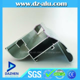 Profil normal en aluminium d'extrusion de guichet en aluminium du marché de Guinée