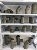 Te de reducción recta de la presión del PVC (muchas talla)