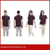 Nuova camicia di polo su ordinazione alla moda alla moda di golf del Mens da vendere (P70)