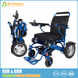 Portable de pouco peso que dobra a cadeira de rodas da energia eléctrica para Disabled e pessoas idosas