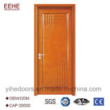 La puerta de madera de madera de la puerta HDF de la manera representa la sola puerta para el chalet