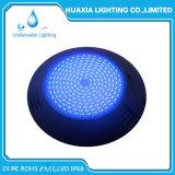 Indicatore luminoso subacqueo fissato al muro della piscina di multi colore LED di buona qualità 12V