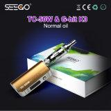 De g-Klap van het Ontwerp van Seego Elegante K3 Verstuiver & de Modieuze Multifunctionele tc-50W Uitrusting van de Batterij