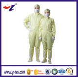 Одежда Coverall Cleanroon с тканями ESD