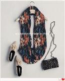 100% полиэстер креп шелковые шарфы для весной и осенью сезоны 120*120 см