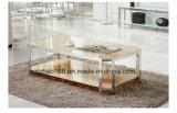 Tavolini da salotto di legno di vetro dei tavolini da salotto di stile classico domestico della mobilia