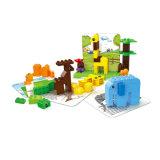Wange Kids Idées Créatives Zoo en plastique d'éclairer le bloc de jouets à bon marché pour la vente