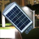 Integriertes 20W 40W 60W LED Solarstraßenlaternemit Batterie-Sonnenkollektor