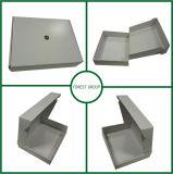 Caja de cartón blanca del rectángulo del Libro Blanco con blanco adentro en precio barato