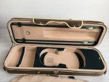 Comercio al por mayor de 4/4 de los casos de violín de cuero
