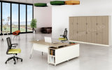 L 모양 현대 간단한 사무실 목제 가구 Excutive 사무실 책상 (BL-BYYD16)