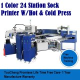 Trabalho de Meia Tela Antiderrapantes Silicone máquina de impressão de cor 1