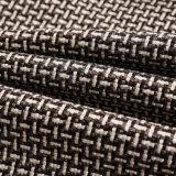 Polyesterfaux-Leinengewebe 100% für Sofa-Gewebe und Hauptgewebe