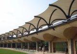 Estructura revestida de la membrana de la configuración de la tela PTFE del material de material para techos
