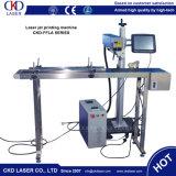 машина маркировки лазера летания лазера волокна 20W он-лайн с High Speed