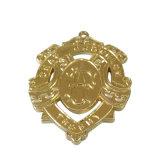 カスタム金属の名誉のための光沢がある金の終わりメダル