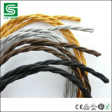Провод кабеля тканья электрического провода кабельной проводки ткани типа сбор винограда