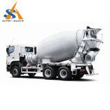 Caminhão de mistura do misturador concreto do cilindro da construção