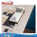 Outdoor bain de soleil lit de repos des meubles en rotin et en rotin Chaises longues en osier en rotin commerciale
