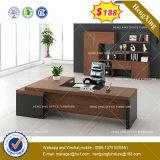 メラミン木のオフィス用家具のL形のオフィス表(HX-8NE037)