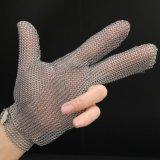 Guanti della mano di sicurezza della maglia del metallo di AISI 304L