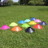 كرة قدم كرة قدم [مولتي-كلور] بلاستيكيّة حركة مرور مخروط مع حامل قفص