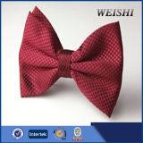 la última pajarita roja llana barato hecha a mano de la alta calidad del diseño
