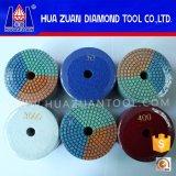 100mm 3 garnitures de polonais de diamant de Flecible de couleur